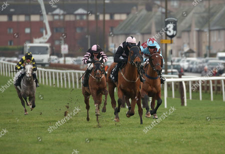 SIR CHAUVELIN ridden by James Reveley win at MUSSELBURGH