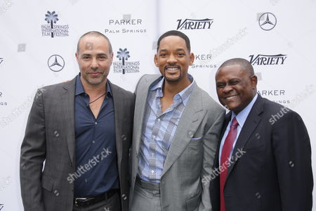 Peter Landesman, Will Smith and Bennet Omalu