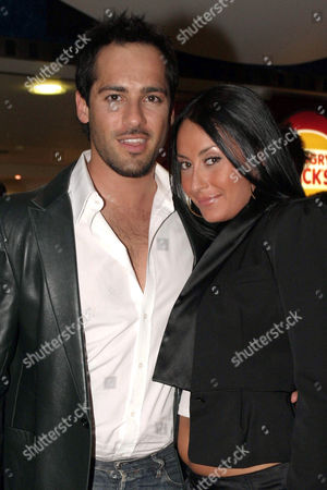 Stock Image of Alex Dimitriades and Terry Biviano