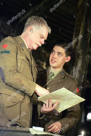 'Journey's End' at the New Ambassadors Theatre - Michael Siberry and Tom Payne