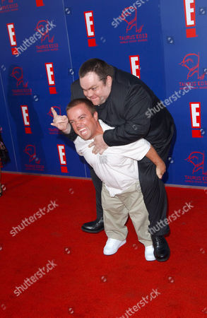 Pee Wee Man and Preston Lacy from Jackass