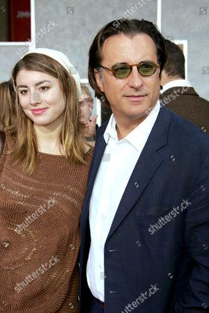 Andy Garcia and daughter Dominique Garcia