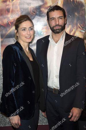 Olivier Loustau and Julie Gayet