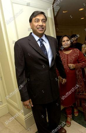 Lakshmi Mittal and wife Usha Mittal