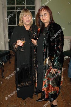Cynthia Lennon and May Pang