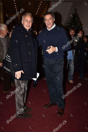 Marco Travaglio and Luca Barbareschi