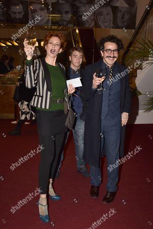 Lucrezia Lante Della Rovere, Francesco Zecca and guest
