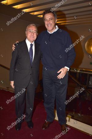 Luca Gianni Letta Barbareschi with guest