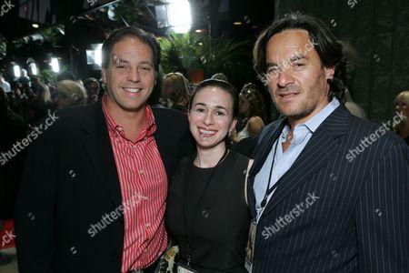 Twentieth Century Fox's Jeffrey Godsick, Pam Levine & Tony Sella