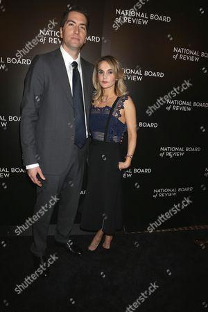 Drew Goddard and wife Caroline Williams