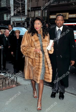 Natalie Cole at the wedding of Wedding of Liza Minnelli and David Gest 2002