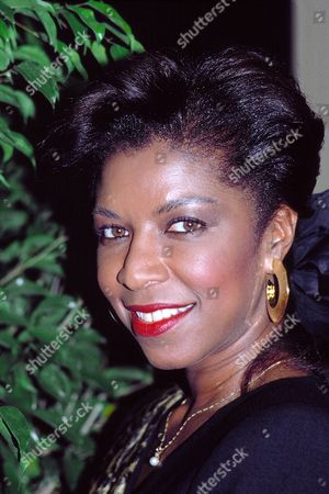 Natalie Cole pictured in 1989