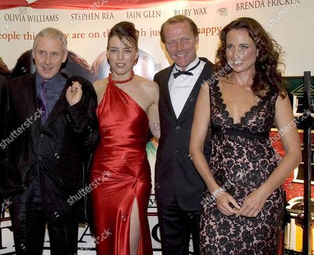 Gillies MacKinnon, Olivia Williams, Iain Glen and Andie MacDowell