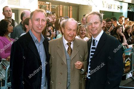 Steve Box, Peter Sallis and Nick Park