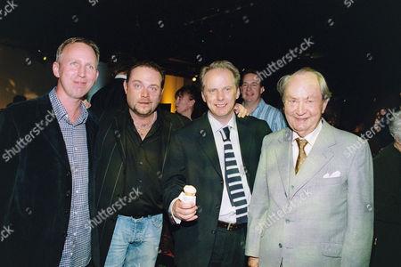 Steve Box, John Thomson, Nick Park, Peter Sallis