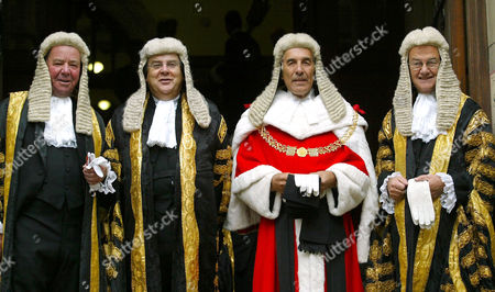 SIR ANTHONY CLARKE ( MASTER OF THE ROLLS ), LORD FALCONER OF THOROTON ( LORD CHANCELLOR ), LORD PHILIP OF WORTH MALTRAVERS ( LORD CHIEF JUSTICE OF ENGLAND AND WALES ) AND SIR IGOR JUDGE ( PRESIDENT OF THE QUEENS BENCH DIVISION )