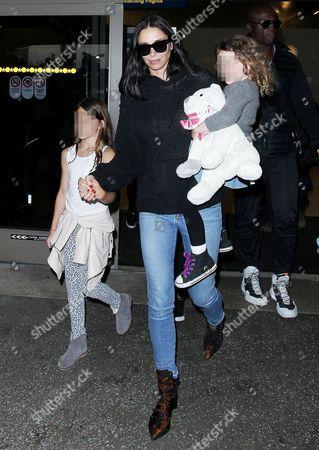 Erica Baxter and children