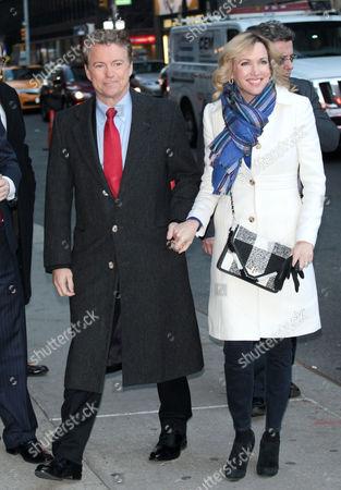 Senator Rand Paul and Kelley Ashby
