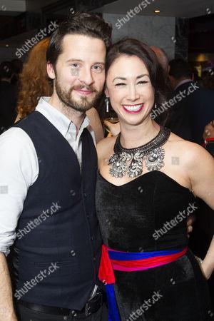 Robert Lonsdale and Siubhan Harrison (Sarah Brown)