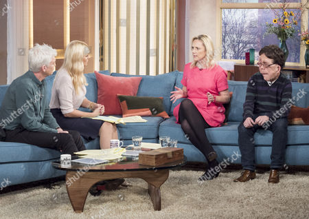 Phillip Schofield, Holly Willoughby, Adam Pearson and Samantha Brick