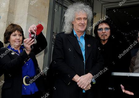 Brian May and Tony Iommi