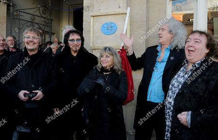 Editorial photo of Plaque unveiled for rock drummer Cozy Powell, Cirencester, Britain - 07 Jan 2016