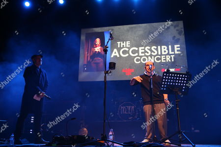 Editorial image of The Accessible Concert at the O2 Academy, Glasgow, Scotland, Britain - 07 Jan 2016