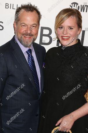 Stock Photo of David Costabile and Eliza Baldi