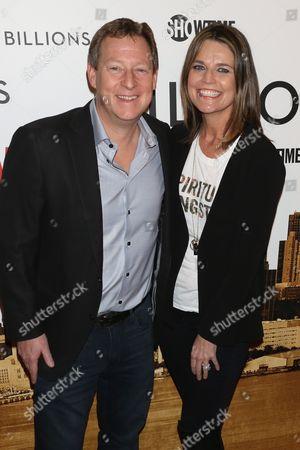Michael Feldman and Savannah Guthrie