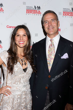 Stock Photo of Liliana Burgi and Richard Burgi