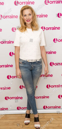 Editorial photo of 'Lorraine' TV show, London, Britain - 08 Jan 2016