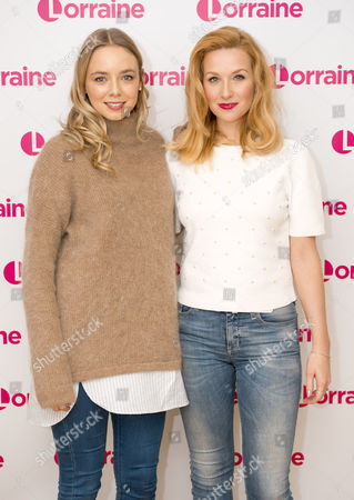 Stock Picture of Sacha Parkinson and Amy-Beth Hayes