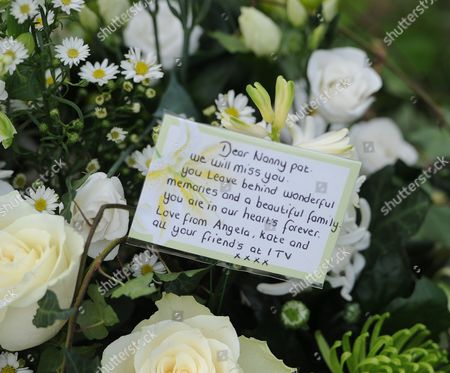 Tributes left to Nanny Pat