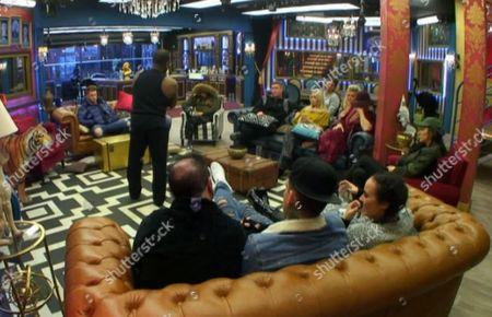 Editorial image of 'Celebrity Big Brother' TV show, Elstree Studios, Hertfordshire, Britain - 8 Jan 2016