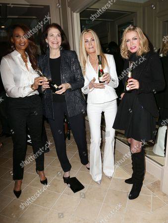 Beverly Johnson, Sherry Lansing, Joan Van Ark and Donna Mills