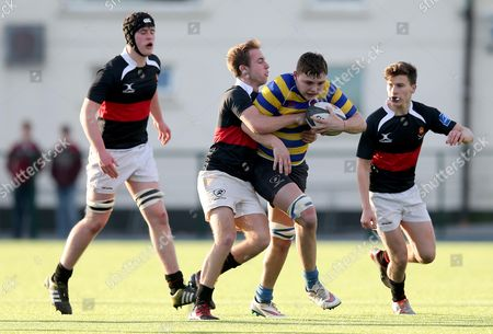 Skerries' Cillian Moore and Dylan Walsh of High School