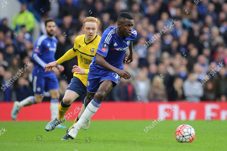 Ramires of Chelsea in action during Chelsea vs Scunthorpe United at Stamford Bridge