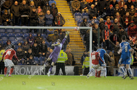 Reza Ghoochannejhad of Charlton Athletic pulls a goal back