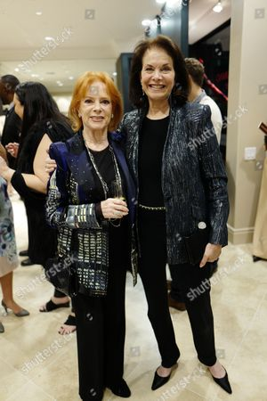 Luciana Paluzzi and guest