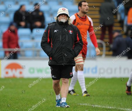 Gloucester's Head coach Laurie Fisher.
