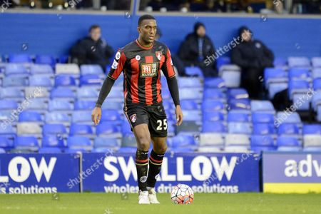 Bournemouth defender Sylvain Distin during the The FA Cup third round match between Birmingham City and Bournemouth at St Andrews, Birmingham