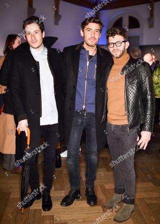 Editorial picture of Lou Dalton x Jaeger presentation, London Collections Men, Autumn Winter 2016, Britain - 09 Jan 2016
