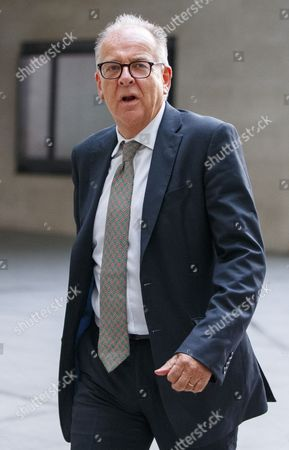Shadow Justice Secretary Lord Falconer arrives at BBC Broadcasting House in London to appear on The Andrew Marr show on BBC One