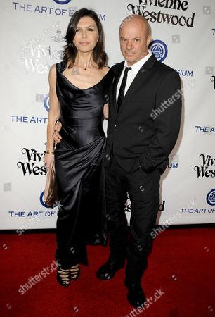 Finola Hughes & husband Russell Young