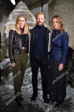 Nicki Shields, Alistair Guy and Tilly Wood