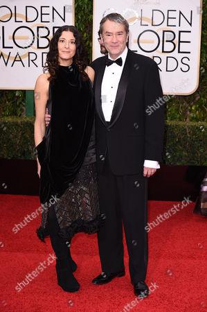 Christine Sciulli and Carter Burwell