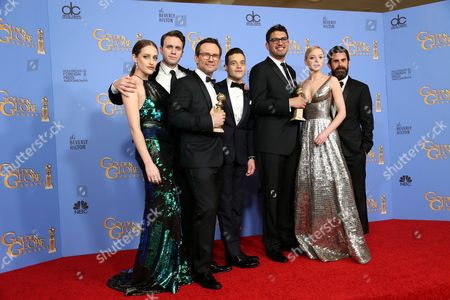 Editorial picture of 73rd Annual Golden Globe Awards, Press Room, Los Angeles, America - 10 Jan 2016