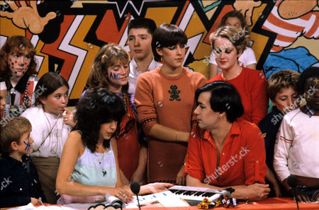 Sally James, Joanne Catherall, Phil Oakey and Susan Ann Sulley of The Human League