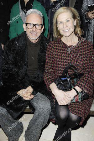 Patrick Cox with Jo Levine