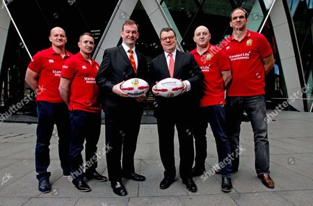 Standard Life Investment ambassadors Gregor Townsend, Shane Williams, Keith Wood and Martin Johnson with British & Irish Lions CEO John Feehan and Keith Skeoch, Chief Executive Officer of Standard Life plc today announced Standard Life Investments as the Principal Partner and Jersey Sponsor of The British & Irish Lions 2017 Tour to New Zealand.